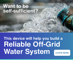 Off-Grid Water System | Ultimate Prepping Guide